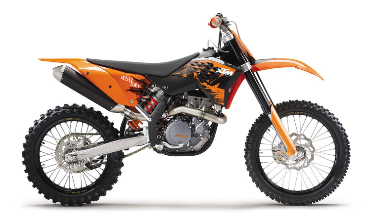 KTM 450 SXF CHASSIS